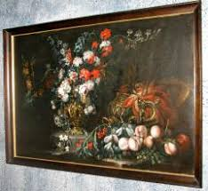 flowers and fruit stanchi still of flowers and fruit with gilded urns
