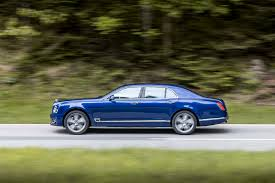 blue bentley 2016 2017 bentley mulsanne first drive review motor trend