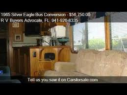 Silver Eagle Bus Conversion For Sale In FL  YouTube - Silver eagle furniture