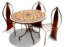 Mosaic Patio Furniture Patio Table