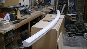 Curved Handrail Curved Handrail Woodworking Talk Woodworkers Forum