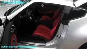 350z Custom Interior Nissan 370z Custom Katzkin Leather Interior Boomer Nashua Mobile