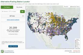 Charging Station Map 20 000 And Counting Alternative Fueling And Charging Stations Hit
