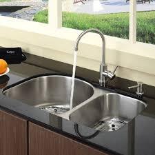 Triple Bowl Kitchen Sinks by Kitchen Sinks Drop In Undermount Double Sink Square Polished Brass
