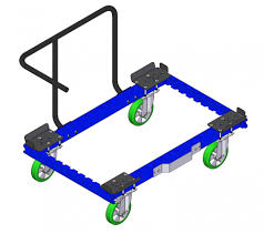 material handling u0026 industrial lift eur pallet trolley with handle bar modular industrial carts for