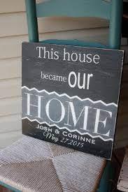 Custom Signs For Home Decor Best 25 Personalized Housewarming Gifts Ideas On Pinterest