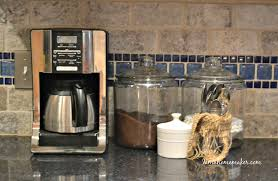 my coffee station saves my mornings i am a homemaker