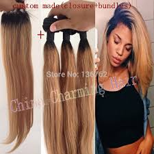 honey brown hair with blonde ombre ombre hair extensions 1b 27 honey blonde ombre dark root virgin