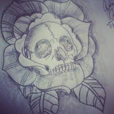 flower skull by gutonilda on deviantart