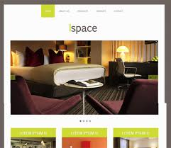 16 best furniture u0026 interior design html web templates free