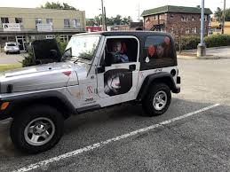 sidekick jeep images louisville man turns heads with jeep rigged to look lik