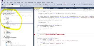 Visual Studio Code Map Using Javascript Frameworks From Your C Uwp Application Dzone