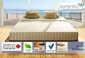 essentia dormeuse natural organic memory foam mattress best price