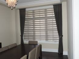 our pleated style combi roller blinds in grey goes well with