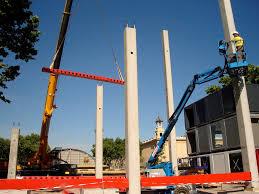 concrete prefabricated pillar prefab rectangular hormipresa