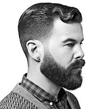 hairstyles that go with beards best hairstyles for beards guide with pictures and advice