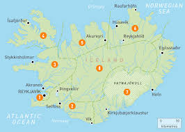 Europe Google Maps by Map Of Iceland Iceland Regions Rough Guides