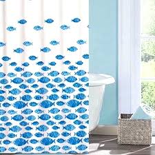 fish shower curtain hooks fish shower curtain shower curtains tropical artistic school of swimming fish fabric