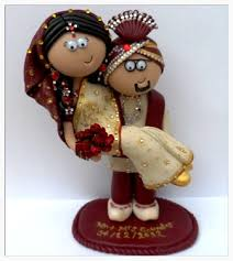 cute cake toppers for indian weddings fullonwedding
