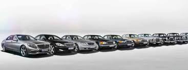mercede s class ranking all nine generations of the mercedes s class vanity