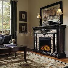Black Electric Fireplace Black Fireplace Mantel Sciatic