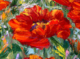 poppies flowers painting poppy field canvas poppies flowers shop online