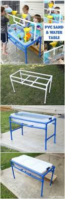 diy sand and water table pvc how to make a pvc pipe sand and water table water tables play