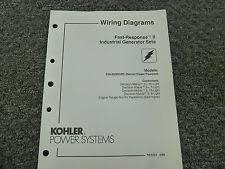 kohler heavy equipment manuals u0026 books for generator ebay