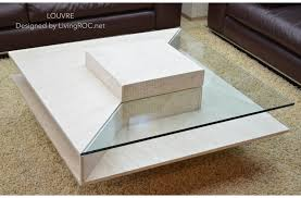 travertine coffee table square various travertine marble coffee table on 100x100cm square louvre