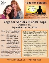 Armchair Yoga For Seniors Yoga For Seniors With Carol Krucoff U0026 Kimberly Carson Yoga Club