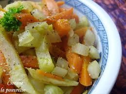 cuisiner du fenouil poêlée de fenouil et carottes la cuisine de quat sous