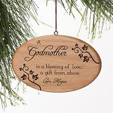 she s a blessing personalized ornament ornament goddaughter