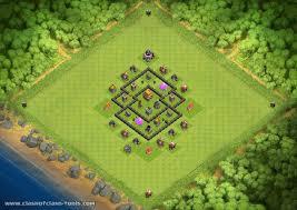 coc village layout level 5 latest base layouts 289 to 296