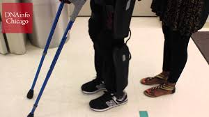 this 70 000 battery powered exoskeleton lets paralyzed man walk