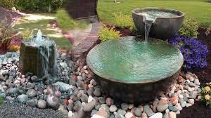 creative garden waterfall u0026 fountain ideas water garden and