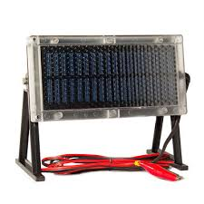 might d light charger mighty max 6v solar panel charger for 6v 12ah deer game feeder