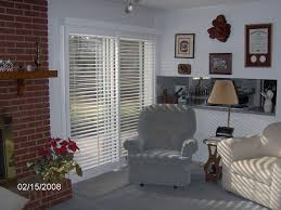 patio doors transform your sliding glass patio door with shutters