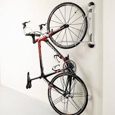 garage hanging bike racks for ceiling garage storage with bike