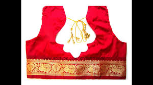 blouse pic pattu silk designer blouse cutting stitching in telugu 10 diy