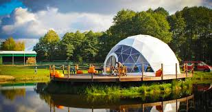 geodesic dome inhabitat green design innovation architecture