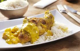 cuisiner cuisses de lapin recette cuisses de lapin aux pommes à l ananas et à la sauce curry