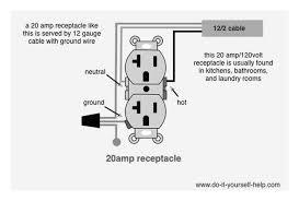 120 volt outlet wiring diagram dolgular com