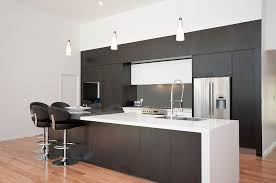 Black And Brown Kitchen Cabinets Two Tone Kitchen Cabinets Grey And White Color Countertop