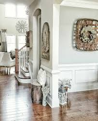 new england farmhouse neutral paint color scheme grey family