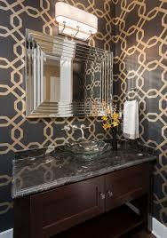 bathroom granite powder room vanity design with dark brown