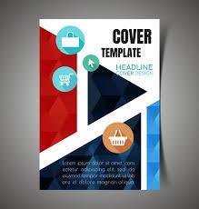 brochure vector for free download