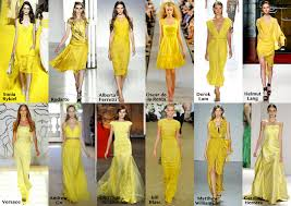 frills and thrills the yellow dress trend