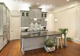 Creamy White Kitchen Cabinets Choosing Cabinet Paint Colors Gray Or Creamy White Lilacs And