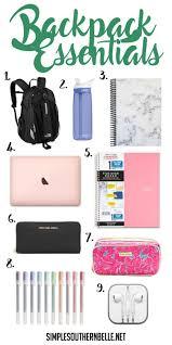 College Toiletries Checklist Best 25 College Backpack Essentials Ideas Only On Pinterest