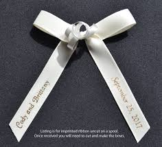 personalized ribbon for wedding favors imprinted ribbon anything ribbons